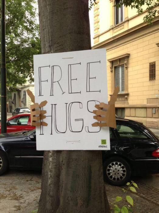 free hughs