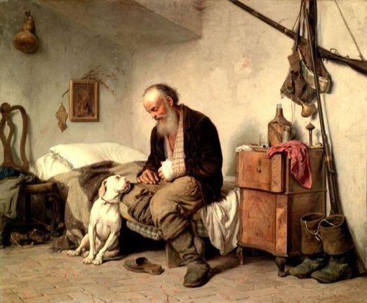 vecchio e cane